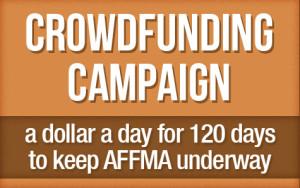 crowdfunding campaign Affma